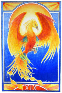 The Sun by Anabel Vermeersch_tarot
